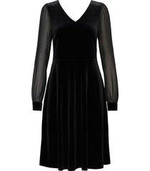 dresses knitted kort klänning svart esprit collection