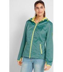 lichte softshell jas