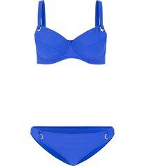 bikini minimizer con ferretto (blu) - bpc bonprix collection