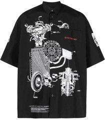 schema's print shirt-41