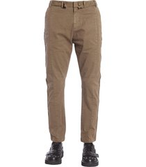 n.21 trousers with decorative strips