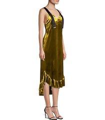florence velvet dress