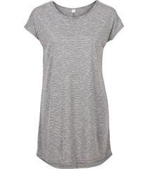 maglia lunga (grigio) - rainbow