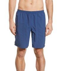 men's patagonia baggies 7-inch swim trunks, size xx-large - blue