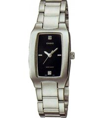 reloj casio lpt-1165a-1c2-plateado