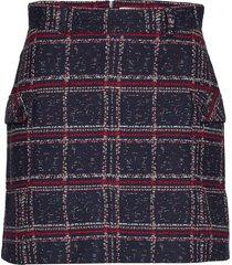 porsha skirt kort kjol blå nué notes
