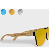 okulary przeciwsłoneczne drewniane z twoją ksywą