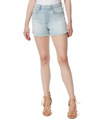 jessica simpson infinite high-waist slim-fit jean shorts