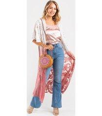 andella flare jeans - medium wash
