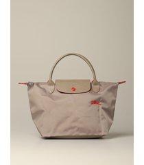 longchamp handbag le pliage club longchamp bag in nylon with logo