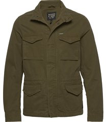 classic garment-dyed field jacket dun jack groen scotch & soda