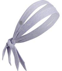 zella restore soft knot headband in blue thistle at nordstrom