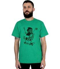 camiseta ventura jamon verde - verde - masculino - dafiti