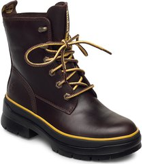 malynn mid lace ek+ wp shoes boots ankle boots ankle boot - flat brun timberland