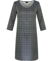 g-maxx jurk 19nyg20 ruit groen/roest