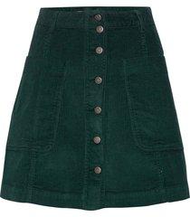 maya skirt kort kjol grön odd molly