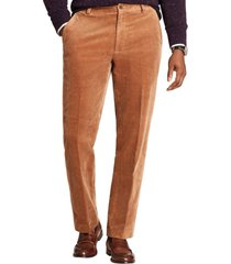 pantalon clark fit wide wale café brooks brothers