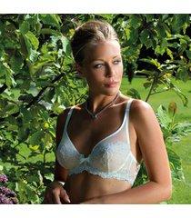 ambra lingerie bh's platinum fashion soft cup bh blauw