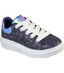 zapatilla high street - glitter rocker azul marino skechers