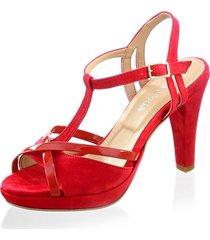 sandaletter alba moda röd