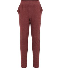 broek regular fit katoenen