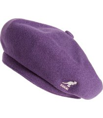 women's kangol jax beret - purple