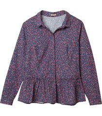print-blouse, bont 46