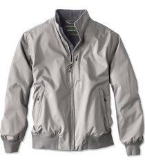 cascade bone-dry jacket, light gray, small