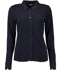 blouse donkerblauw