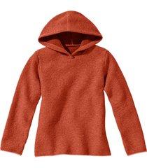 pullover met capuchon, terrabruin 40/42