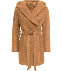cappotto bouclé (marrone) - bodyflirt