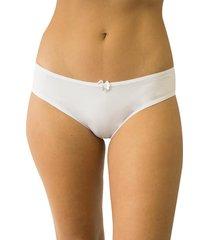 calcinha tanga leila qtal lingerie básico branco