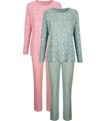 pyjama's harmony jadegroen::oudroze