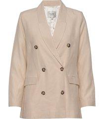 lia blazer blazer colbert beige second female