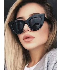 retro wide rim uv protection sunglasses