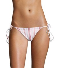 patio stripes sadie bikini bottom