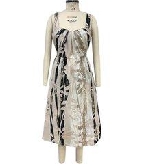 alfani printed pleated sleeveless dress, created for macy's