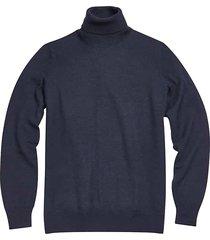 jos. a. bank traveler men's modern fit merino wool turtleneck sweater - size: small