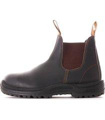 blundstone 192 steel toe cap - stout brown - blu192-201