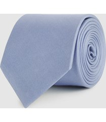 reiss aiden - silk tie in airforce blue, mens