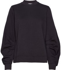 isoli sweat-shirt trui zwart ganni