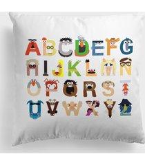 poduszka alphabet