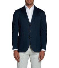 men's alton lane the performance sport coat, size 44 regular - blue