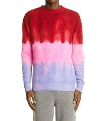 men's the elder statesman gradient cashmere sweater