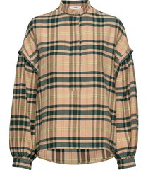 charles shirt st blouse lange mouwen beige iben