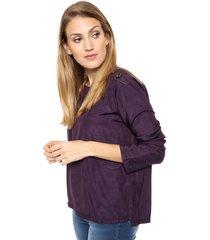 camisa violeta destino collection contratono