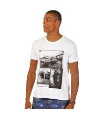 camiseta docthos malha estampada slim camiseta docthos malha estampada slim 001 branco p