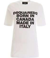 born in canada t-shirt