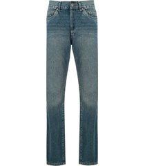 eva vintage denim trousers - blue