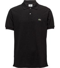 lacoste poloshirt short sleeves polos short-sleeved zwart lacoste